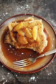 Apple Cinnamon French Toast - Creme De La Crumb