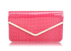 Party Women's Clutch With Solid Color and Stone Veins Design