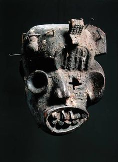 Fired Earth - paintmyworldrainbow: Igbo Peacekeeper Masks