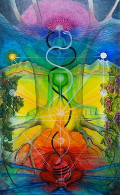 Alchemical Door by Colleen Koziara / Sacred Geometry <3 - Pinned by The Mystic's Emporium on Etsy