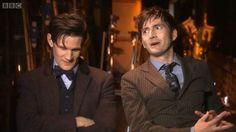 Doctor Who 30 Day Challenge Day 27: Favorite interview: DOCTOR WHO | 50TH ANNIVERSARY DAVID TENNANT AND MATT SMITH INTERVIEW