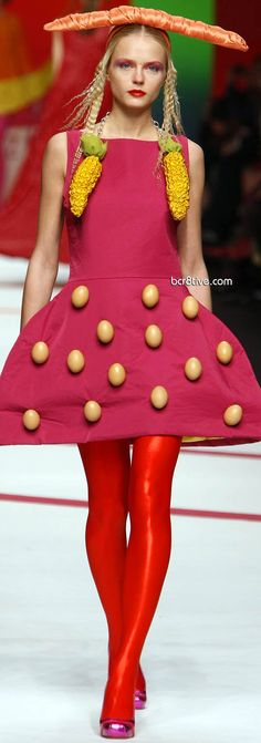 Ágatha Ruiz de la Prada Fall Winter 2009 - Vegetable Couture | The House of Beccaria