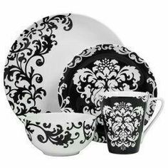 352 Best Black White Dishes Images