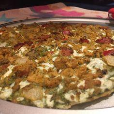 Tried the Tofurkey sausage and veggie supreme pizza yesterday. I like Daiya's a little more but this was still good. #vegan #glutenfree #celiac #glutenfreevegan #veganceliac #veganglutenfree #tofurkey #meatless #crueltyfree by glutenfreebostonvegan