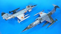 After Spain dropped their Starfighters, the Madrid Air Museum at Cuatrovientos contacted the Luftwaffe to get one of their old F-104G´s. The...