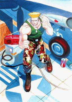 Guile - Street Fighter II - The World Warior
