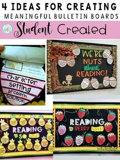 Teaching Fourth: Ideas for Creating Meaningful Bulletin Boards: Student Created Bulletin Boards