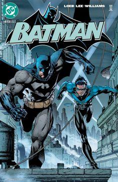 Batman vol 1 #615 | Cover art by Jim Lee, Scott Williams & Alex Sinclair