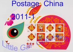 2011 the third round of 2011-1 , China Postage ,scrapbooking , special shape rabbit stamps, collecting with , mini sheet  //Price: $US $5.99 & FREE Shipping //     #crafting #scrapbooking #decor #decoration #diy #idea #inspiration