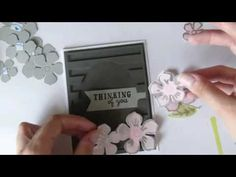 Card Making with Aliexpress|| Heat embosssed vellum flowers || May 2018