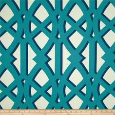 Screen printed on a 100% polyester basketweave fabric, this indoor/outdoor fabric has a soil and stain repellent finish. This fabric holds up to 1500 hours of sunlight exposure and perfect for indoor home decor such as pillows, upholstery, placemats and more, very family friendly! Outdoors for cushions, deck chairs and pillows. To maintain the life of the fabric bring indoors when not in use. Colors include Carribean blue, royal and ivory.