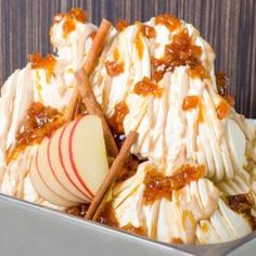 Apple Pie Biscotti Gelato // Fuel your passion with more recipes at www.pregelrecipes.com