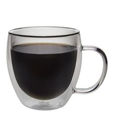c3064b24206 Another great find on  zulily! Haus by Kalorik Double-Wall Glass Coffee Mug