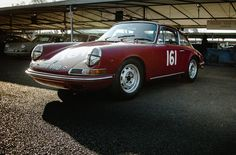 Rob Russell - 1966 Porsche 911 at the Goodwood 73rd Members Meeting (Photo 1)