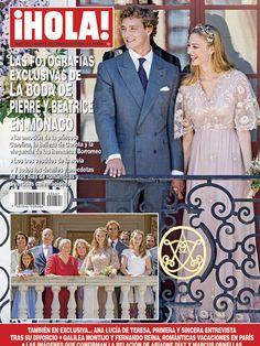 Esta semana en ¡HOLA!: Las fotografías exclusivas de la boda de Pierre y Beatrice en Mónaco.