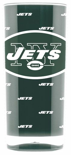 New York Jets Tumbler - Square Insulated (16oz)