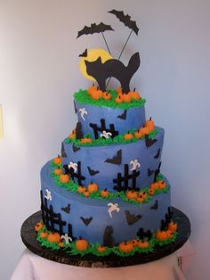 Haunted Pumpkin Patch By CakesBySandy on CakeCentral.com