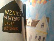 #zniszcztendziennik #wreckthisjournal #Up! #baloons #house