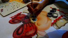 vaquinha  pintura lilinha