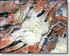 NJ Style Olive Oil & Garlic Crabs