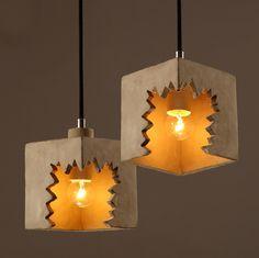 Подвесной светильник Broken Cube | Loft Concept | купить дешево с доставкой цена 7 900 руб.