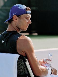 """""Rafael Nadal's practice in Cincinatti, August 2017 "" """