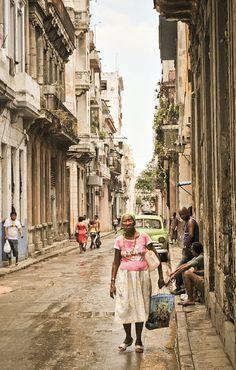 The streets of Havana,