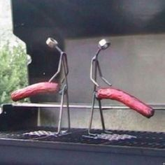 Newest grill accessories.