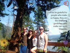 Friends, Love, Gratitude, Happiness, Nature @ www.facebook.com/brightsideyoga