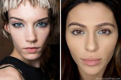 Our beauty expert shows you how to recreate makeup trends from New York Fashion Week. #nyfw #lipstick #eyeliner #makeup