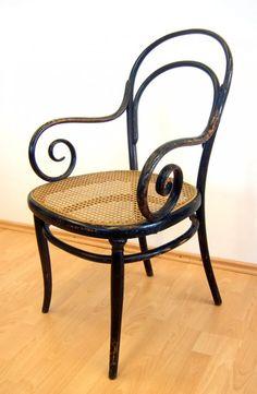Thonet fauteuil