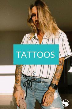Tattoos, T Shirt, Women, Fashion, Tattooed Women, Tattoo Female, Tattoo Ideas, Women's, Templates