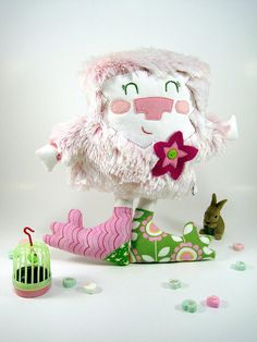 this is one of the cutest softies I have ever seen. I love it!  by scrumptiousdelight, via Flickr