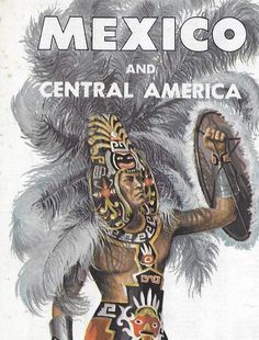 Vintage Mid Century AAA Travel Road Map - Mexico And Central America by 20thCenturyCool on Etsy