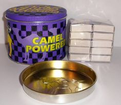 Camel Cigarettes Smokin Joes Racing Match Tin With Ashtray New Smokin Joes, Coffee Cans, My Ebay, Tin, Racing, Shop, Camel, Tin Metal, Pewter