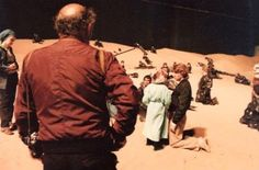 Behind the scenes on David Lynch's Dune, c. 1984