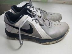 super popular 464a4 631f6 Nike Air Mavin Low Mens Basketball Shoes Gray White Black Size 10  fashion   clothing