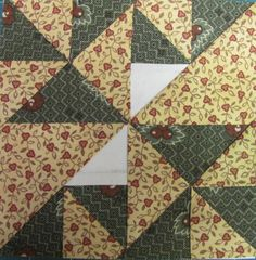 A row done on my Civil War Diary Quilt... whew... got two more blocks done today and I apologize for the delay in the posting... This weeken...