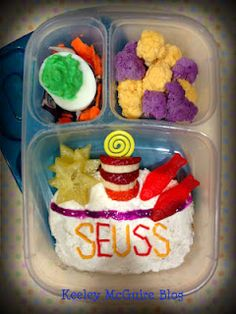 Happy Birthday Dr. Seuss! #EasyLunchBoxes ~ Seussical Bento Lunch
