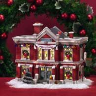 department 56 ceramic christmas house christmas village display christmas village houses christmas villages