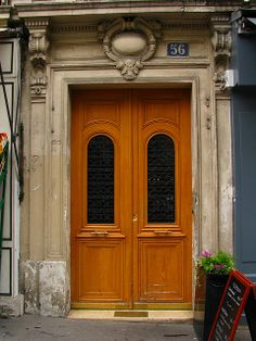 Door, Rue des Martyrs, Paris | Flickr: Intercambio de fotos