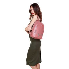 Custom Fabric, Shoulder Straps, Leather Backpack, Fashion Backpack, Backpacks, Organization, Zipper, Pocket, Logo