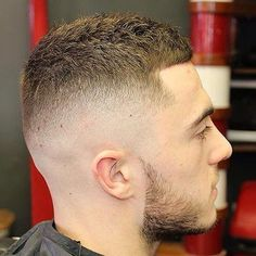 Medium Skin Fade With Pompadour Side View From George Coady A