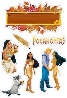 Pocahontas Cake, Disney Princess Crafts, Ideas Para Fiestas, Cake Art, Party Printables, Clipart, Instagram Story, Cake Toppers, Scrap