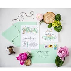 New baby shower stationery suites are being added to the site this week! #stationery #stephanietarastationery #baby #babyshower #babygirl #babyboy #woods #flowers #design