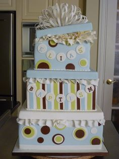 Can be a shower Cake too..  Nice