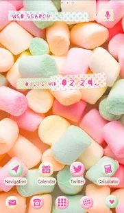 Wallpaper-Pastel Marshmallows-- screenshot thumbnail