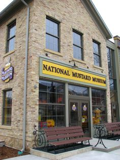The National Mustard Museum, right in downtown Middleton! #visitmiddleton