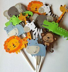 Decoração para Festa Infantil Safari                                                                                                                                                                                 Mais