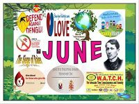 DepEd Monthly Celebrations from June to March. Produce tarpaulins using these images. Elementary Bulletin Boards, Teacher Bulletin Boards, Bulletin Board Borders, Bulletin Board Display, Classroom Bulletin Boards, June Celebrations, Monthly Celebration, Classroom Design, Classroom Decor